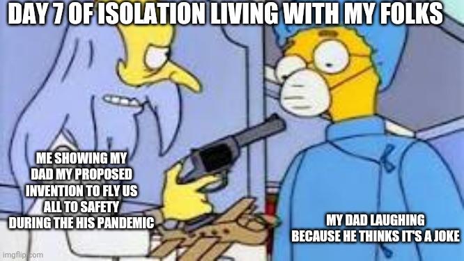 Self isolation - Imgflip