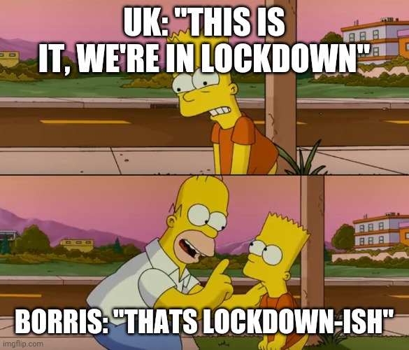 Uk Lockdown Imgflip
