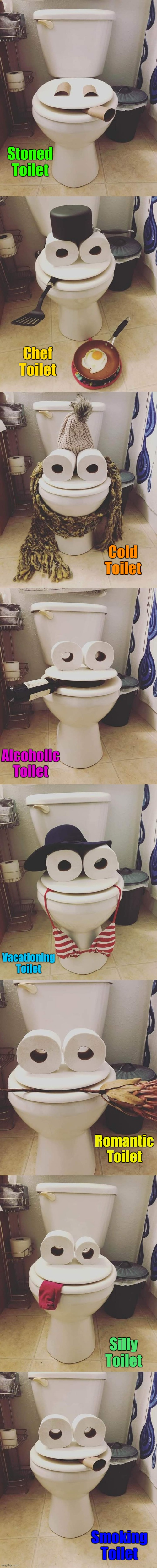 "Day 15 Of Coronavirus Quarantine. Talented People Out There. Here's Some, ""Toilet Paper People Art"" 