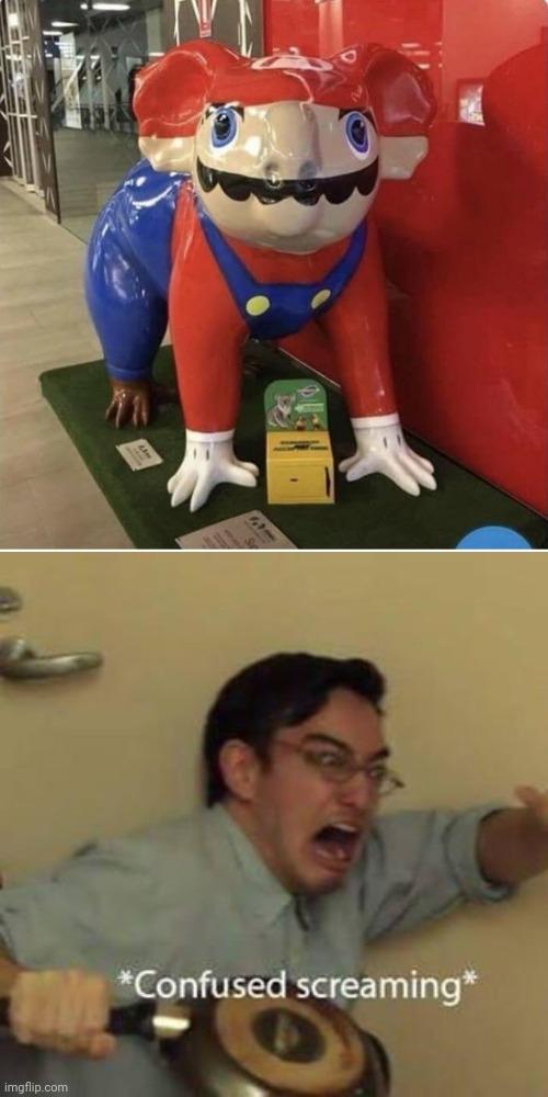Cursed Super Mario Imgflip