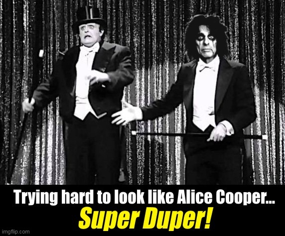 Feed My Young Frankenstein :) | image tagged in alice cooper,young frankenstein,music,peter boyle,memes | made w/ Imgflip meme maker