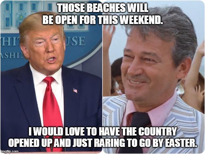 Image Tagged In Trump Vs Mayor Vaugh Imgflip