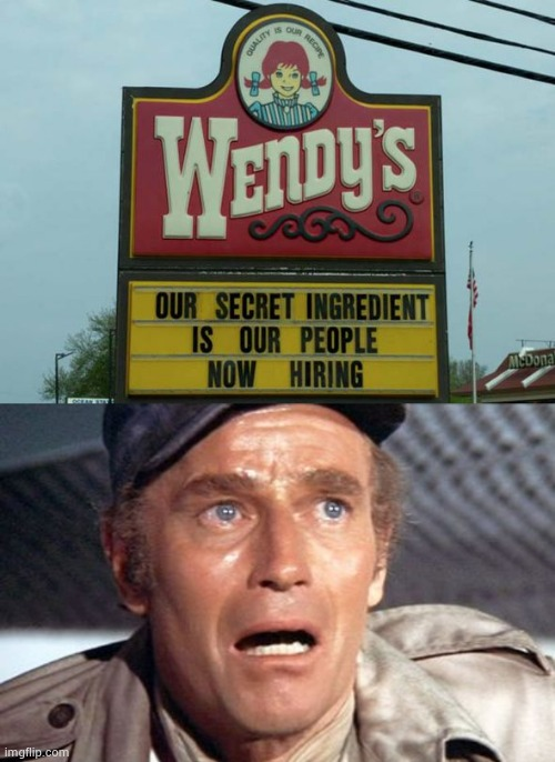 """It's people !"" 