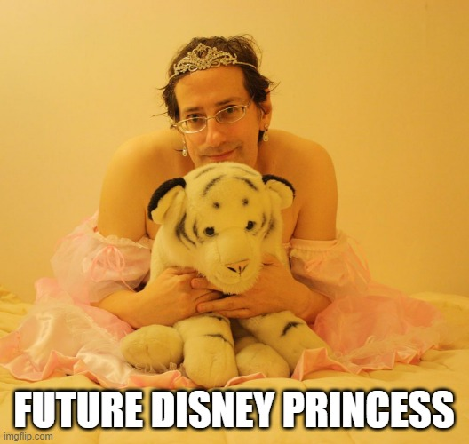 Future Disney Princess |  FUTURE DISNEY PRINCESS | image tagged in disney princess,princess,princess guy,guy princess,girly man | made w/ Imgflip meme maker