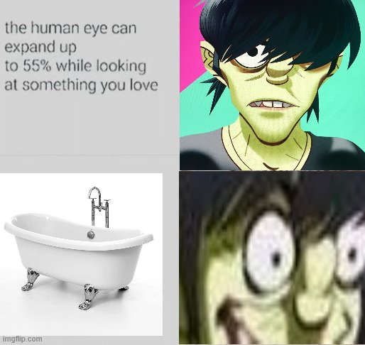 THE BAFF | image tagged in dead meme,gorillaz | made w/ Imgflip meme maker