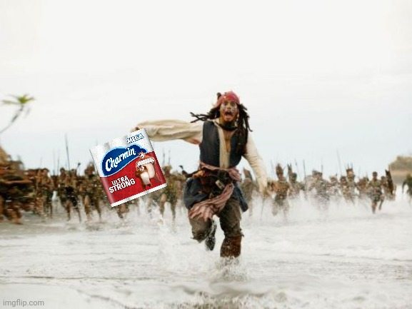 Jack Sparrow Being Chased | image tagged in memes,jack sparrow being chased | made w/ Imgflip meme maker