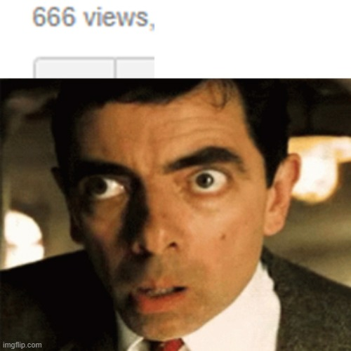 what are the odds | image tagged in memes,mr bean,devil,coincidence | made w/ Imgflip meme maker