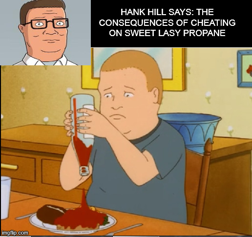 Image Tagged In Hank Hill King Of The Hill Bobby Hill Imgflip