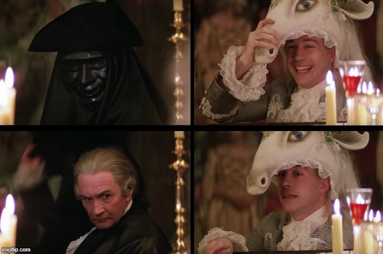 AmadeuS | image tagged in before and after,happy and sad,mozart,film,oscars,hollywood | made w/ Imgflip meme maker