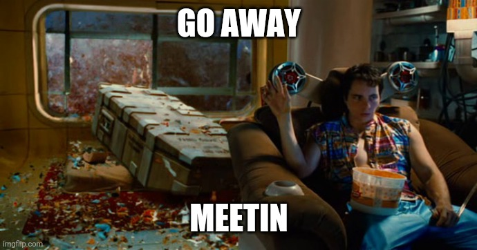 GO AWAY; MEETIN | image tagged in go away batin | made w/ Imgflip meme maker