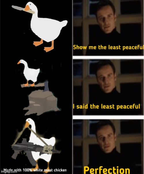 Goose Meets Magneto | image tagged in untitled goose peace was never an option,perfection,magneto,memes,meme,crossover | made w/ Imgflip meme maker