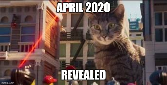 OG CatAttack Meme |  APRIL 2020; REVEALED | image tagged in tags | made w/ Imgflip meme maker