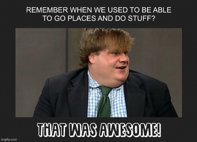 THAT WAS AWESOME | image tagged in chris farley,awesome chris farley | made w/ Imgflip meme maker