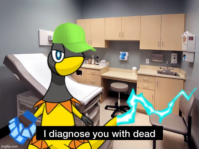 I diagnose you with dead Hyper | image tagged in i diagnose you with dead hyper | made w/ Imgflip meme maker
