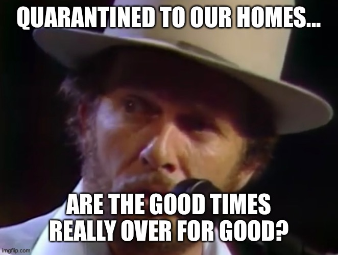 Good Times |  QUARANTINED TO OUR HOMES... | image tagged in good times | made w/ Imgflip meme maker