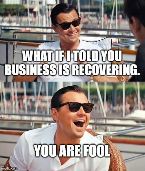 Corona virus business recovery Meme