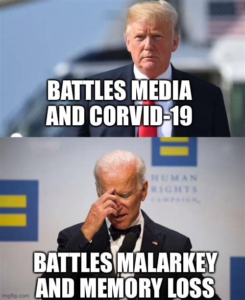 President Trump vs Biden - Imgflip