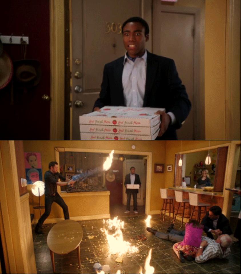 Community Fire Pizza Meme Blank Template - Imgflip