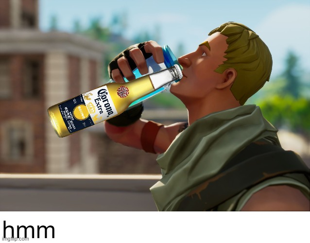 we have 1 new case of coronavirus |  hmm | image tagged in fortnite the frog,funny | made w/ Imgflip meme maker
