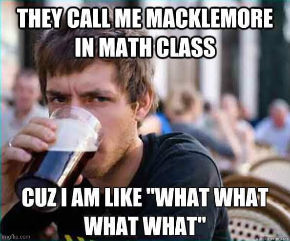 image tagged in math in a nutshell | made w/ Imgflip meme maker