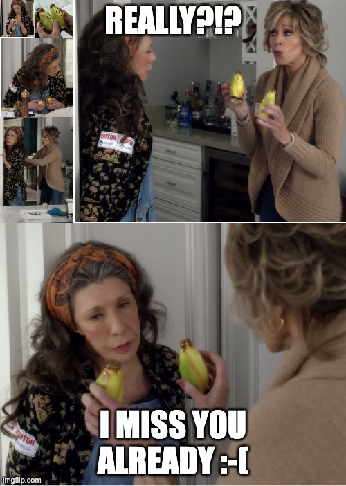 "Grace and Frankie S2 E2: The Vitamix - ""I Miss You Already"" 