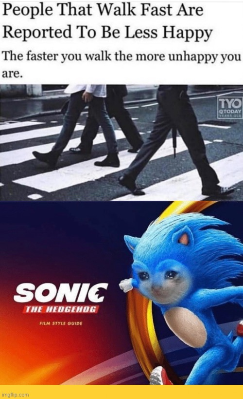 image tagged in sonic the hedgehog,funny memes,memes,gotta go fast,dank memes | made w/ Imgflip meme maker