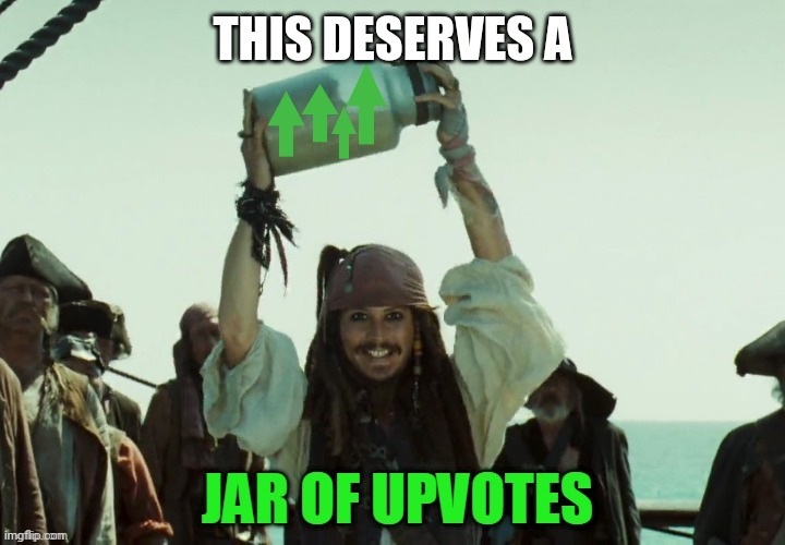 JAR OF UP VOTES | THIS DESERVES A | image tagged in jar of up votes | made w/ Imgflip meme maker