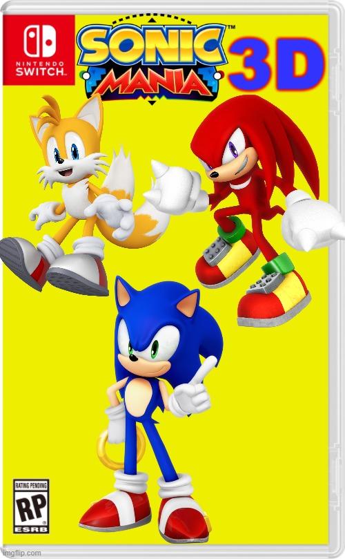 The Modern Sonic Mania Imgflip