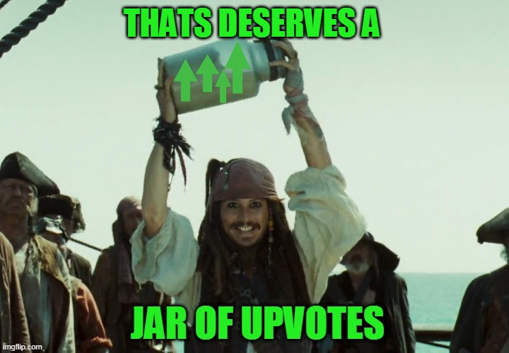 JAR OF UP VOTES | THATS DESERVES A | image tagged in jar of up votes | made w/ Imgflip meme maker
