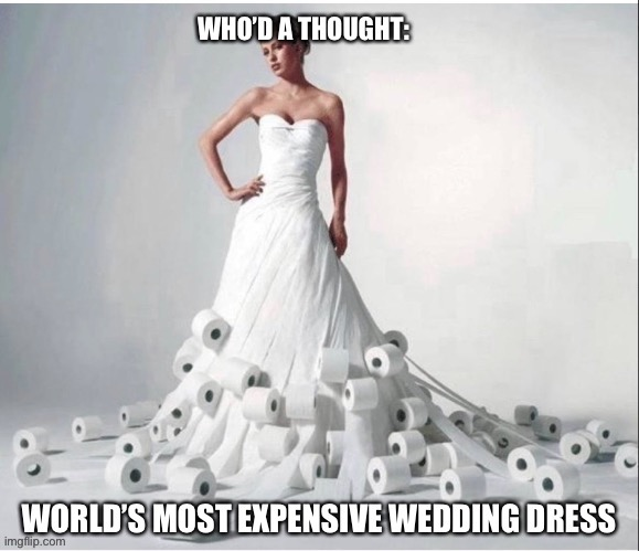Weddings in 2020 | image tagged in coronavirus,covid-19,weddings,fashion | made w/ Imgflip meme maker