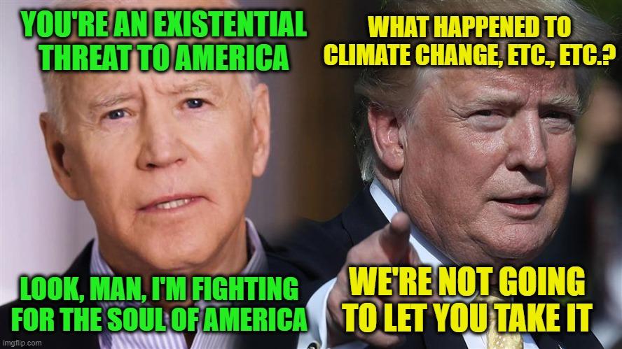 Biden vs. Trump - Imgflip