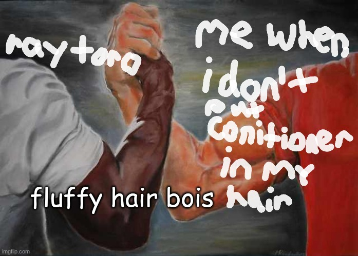 half of this meme was made in chrome canvas |  fluffy hair bois | image tagged in ray toro,my chemical romance,memes,emo | made w/ Imgflip meme maker