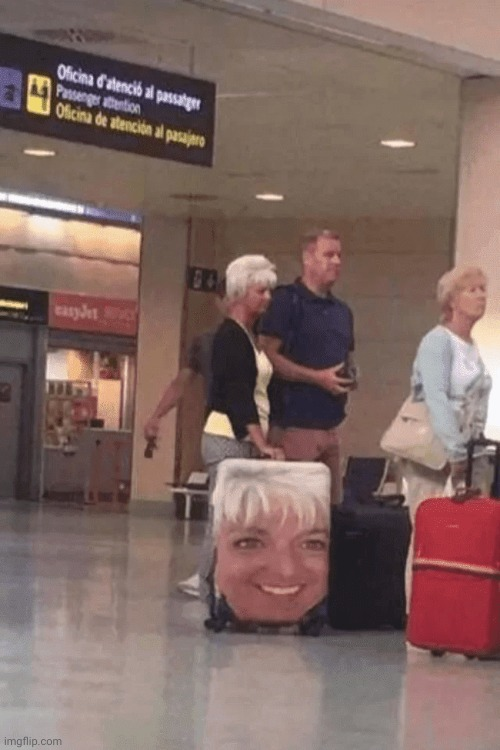 No caption needed | image tagged in memes,airport | made w/ Imgflip meme maker