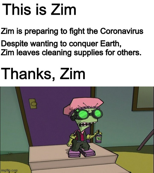 Invader Zim Germs Memes Gifs Imgflip
