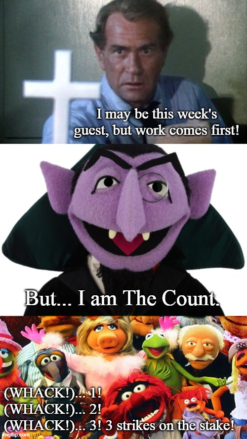 "Kolchak! This ""Count"" doesn't count! 
