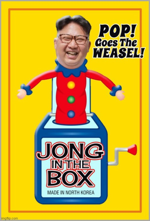 Kim Jong Un ~ Going, Going, Gone? | image tagged in memes,funny,kim jong un,north korea | made w/ Imgflip meme maker