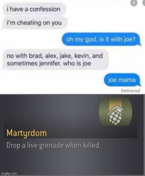 oof | image tagged in martyrdom,memes,cod,dead memes,funny | made w/ Imgflip meme maker