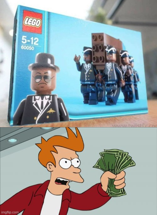image tagged in memes,shut up and take my money fry,coffin dance | made w/ Imgflip meme maker
