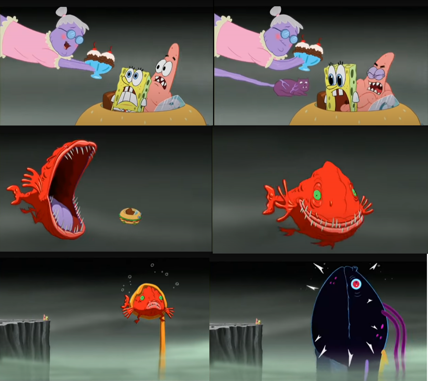 Spongebob Frogfish Memes - Imgflip