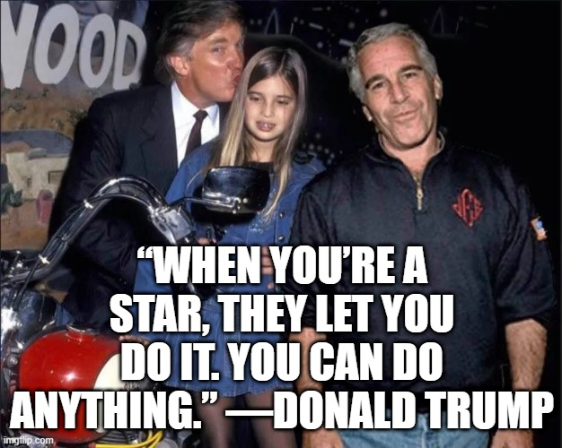 """When you're a star, they let you do it. You can do anything."" —Donald Trump 