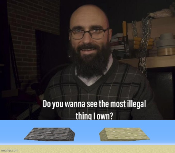 Do you want to see the most illegal thing I own? | image tagged in do you want to see the most illegal thing i own | made w/ Imgflip meme maker