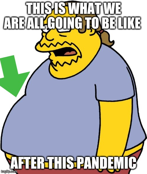 Comic Book Guy |  THIS IS WHAT WE ARE ALL GOING TO BE LIKE; AFTER THIS PANDEMIC | image tagged in memes,comic book guy | made w/ Imgflip meme maker