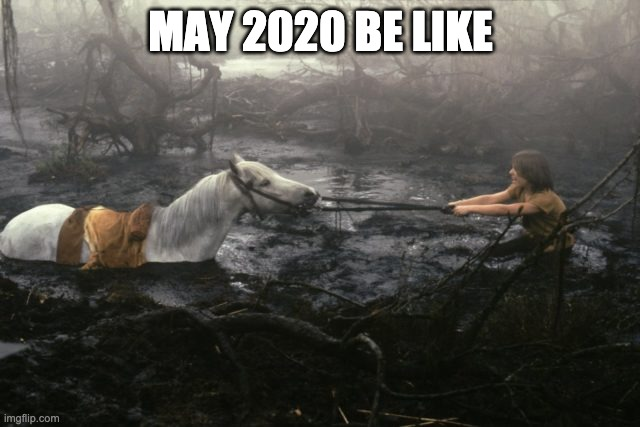 May 2020 Be Like |  MAY 2020 BE LIKE | image tagged in atreyu,artax | made w/ Imgflip meme maker
