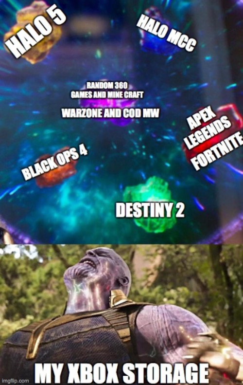 99% | image tagged in game,thanos,halo,cod,warzone,apex legends | made w/ Imgflip meme maker