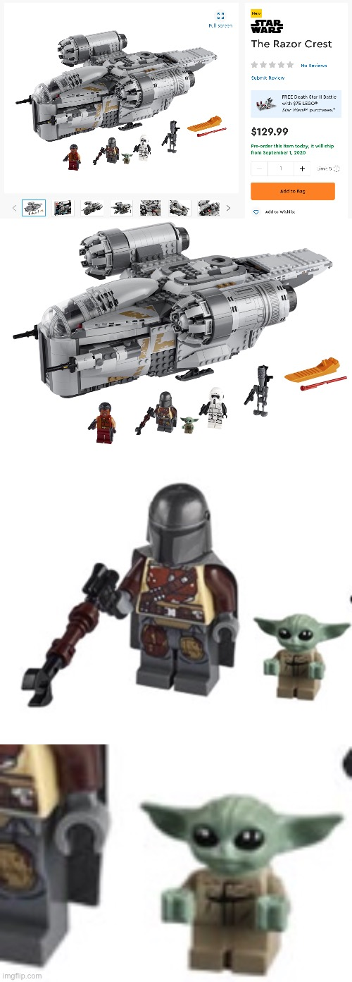 LEGO BABY YODA!!! - Imgflip