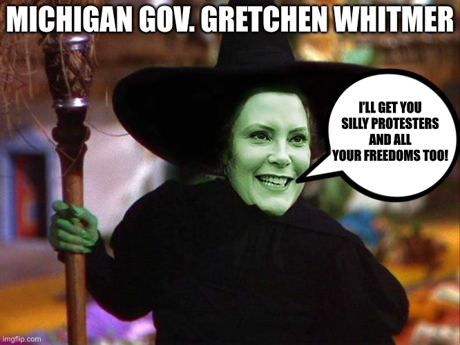 The Wicked Witch of the Midwest - Imgflip