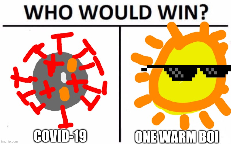 """COVID-19 vs. Warm weather"" 