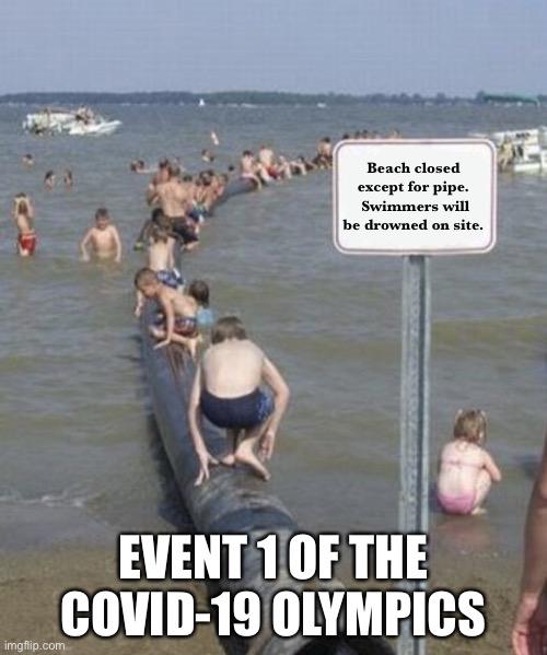 Beach Pipe Sign Imgflip