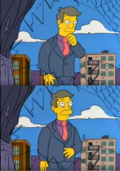 Skinner Out Of Touch Meme Template