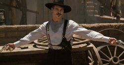 Doc Holiday Val Kilmer Two Guns Meme Template